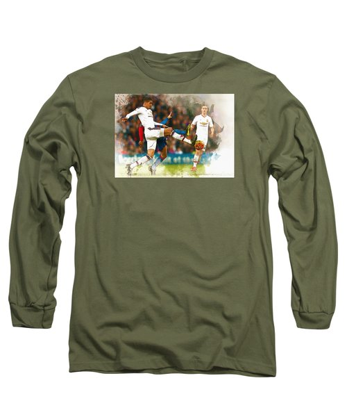 Chris Smalling  In Action  Long Sleeve T-Shirt