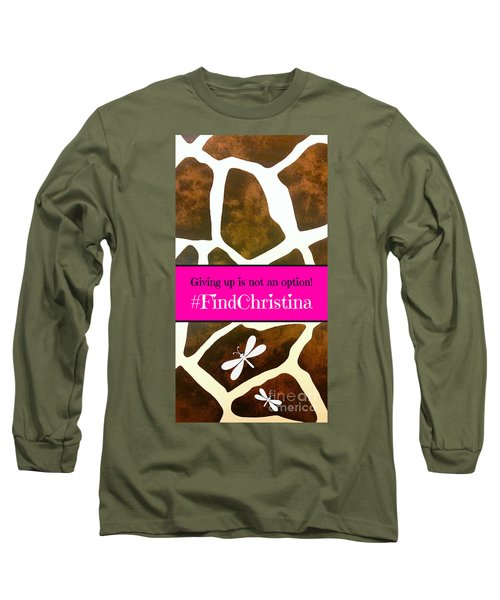 Christina Morris 001 Long Sleeve T-Shirt