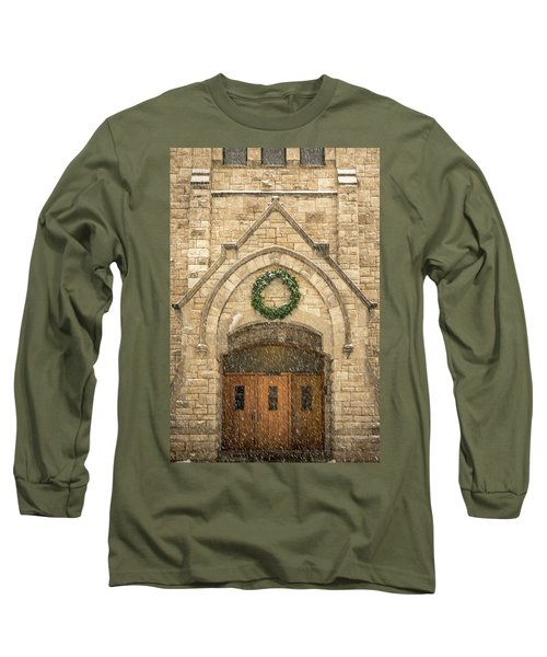 Christmas At Stone Chapel Long Sleeve T-Shirt