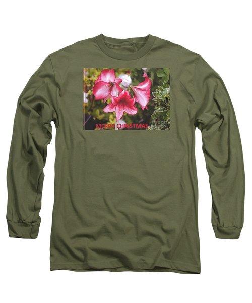 Christmas Card - Amorillis Long Sleeve T-Shirt