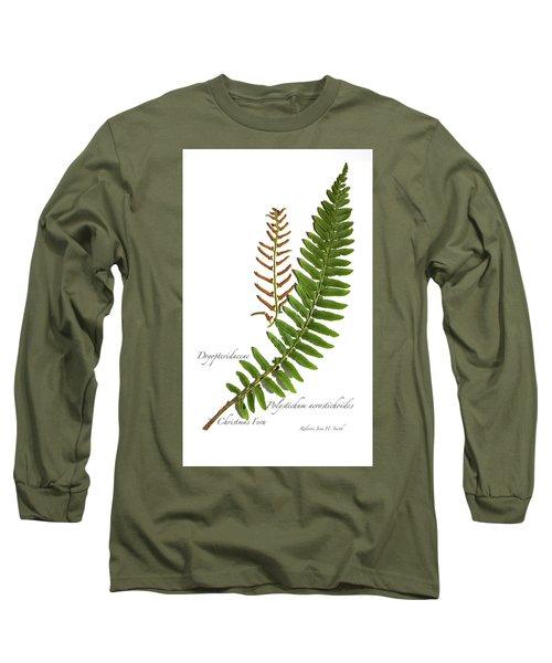 Christmas Fern Long Sleeve T-Shirt