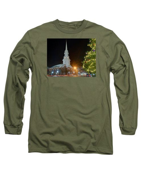 Christmas In Market Square Long Sleeve T-Shirt