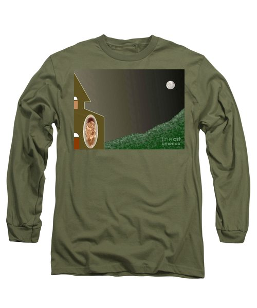 Christmas Moon Long Sleeve T-Shirt