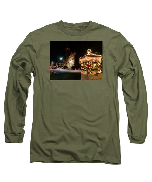 Christmas On Main Street Easthampton Long Sleeve T-Shirt