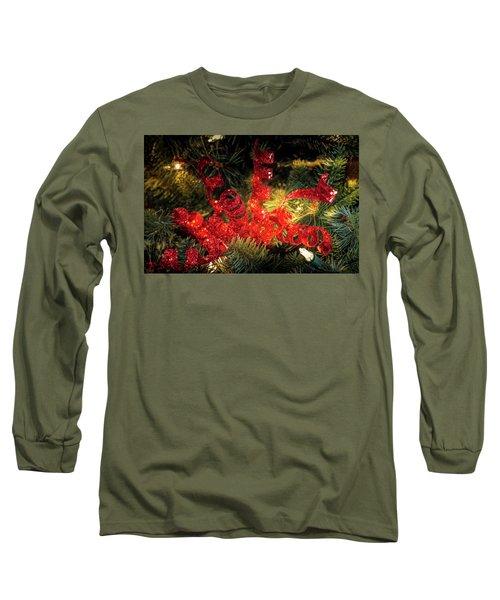 Christmas Red Long Sleeve T-Shirt