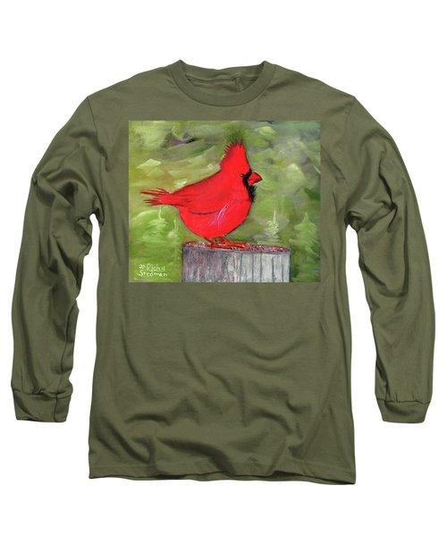 Christopher Cardinal Long Sleeve T-Shirt