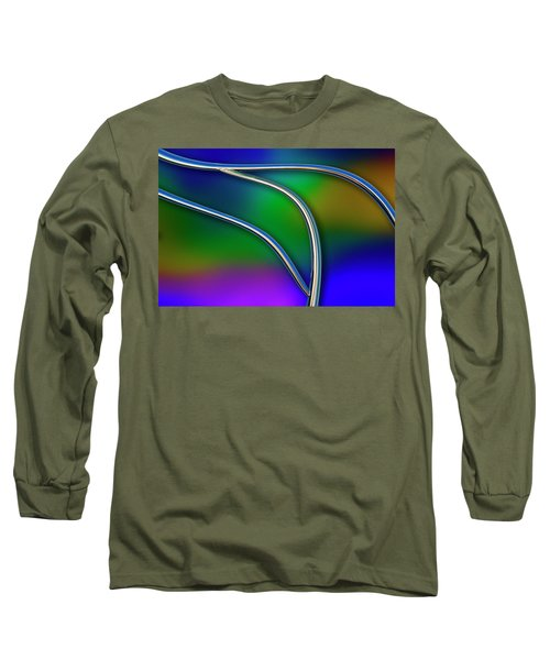 Long Sleeve T-Shirt featuring the photograph Chrome by Paul Wear