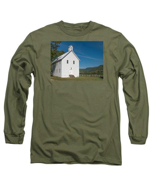 Church House In The Ozarks Long Sleeve T-Shirt