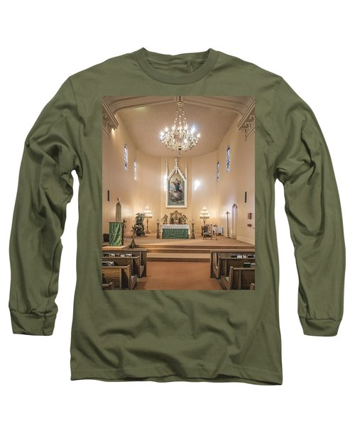 Church Of The Assumption Of The Blessed Virgin Altar Long Sleeve T-Shirt