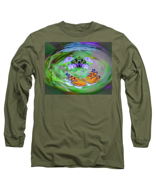 Circularity Long Sleeve T-Shirt by Mark Dunton