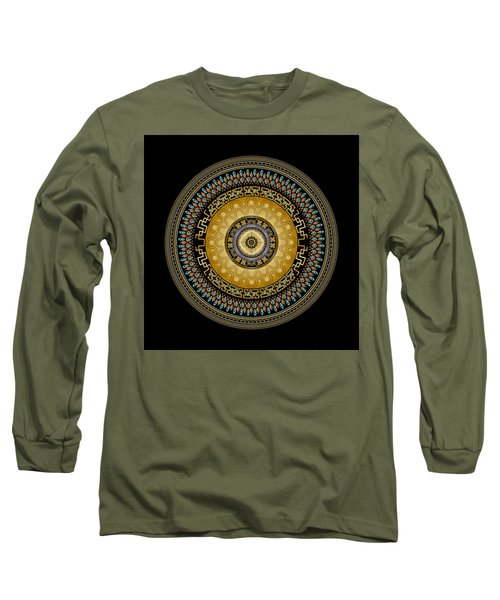 Circularium No 2642 Long Sleeve T-Shirt by Alan Bennington