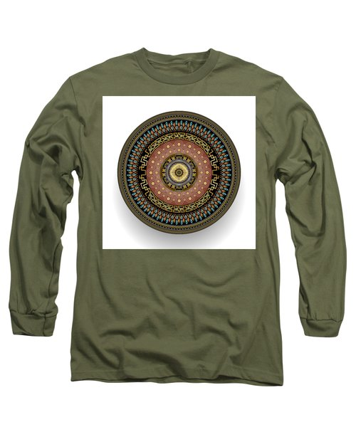 Circularium No 2645 Long Sleeve T-Shirt by Alan Bennington