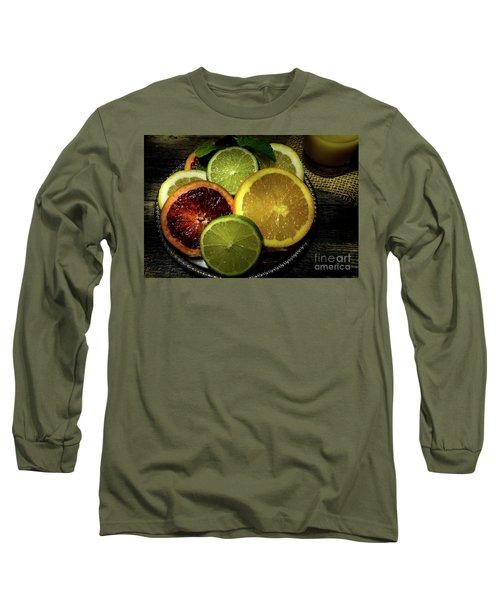 Citrus Platter Long Sleeve T-Shirt