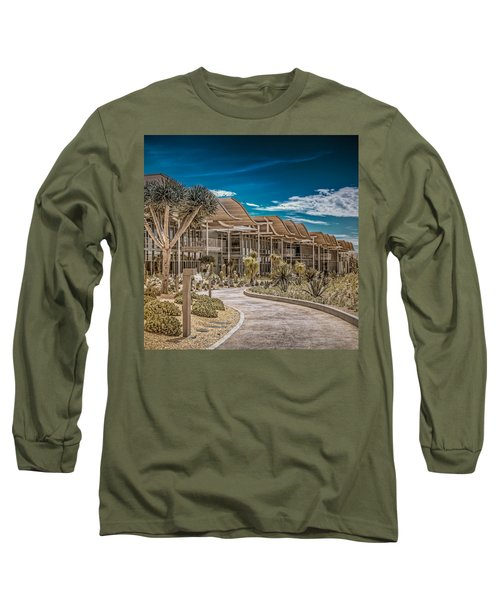 Newport Beach California City Hall Long Sleeve T-Shirt