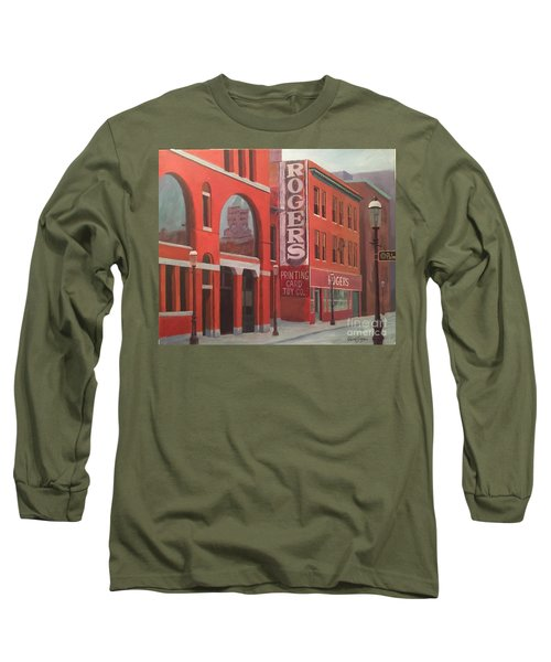 City Hall Reflection Long Sleeve T-Shirt
