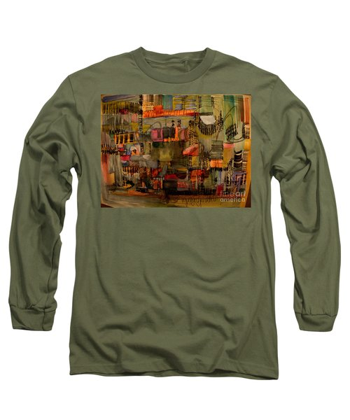 Evening Out Long Sleeve T-Shirt by Nancy Kane Chapman