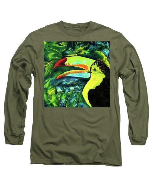 Clara's Toucan Long Sleeve T-Shirt