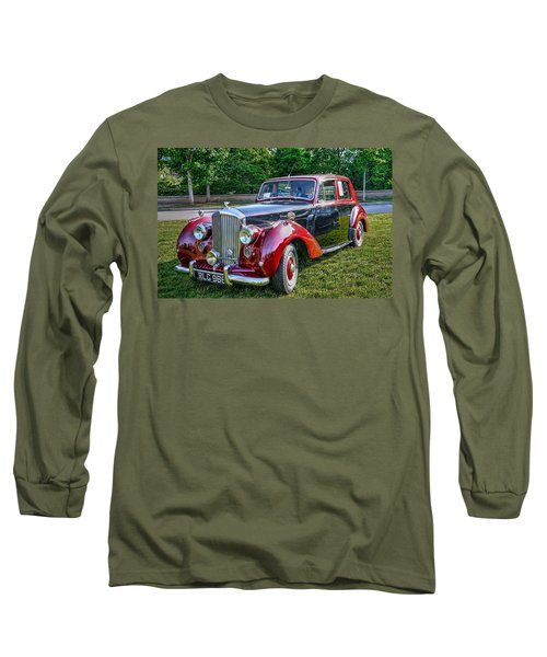 Classic Bentley In Red Long Sleeve T-Shirt