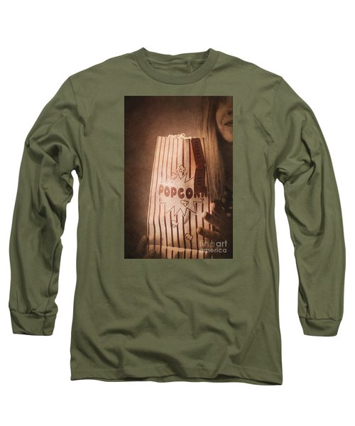 Long Sleeve T-Shirt featuring the photograph Classic Hollywood Flicks by Jorgo Photography - Wall Art Gallery