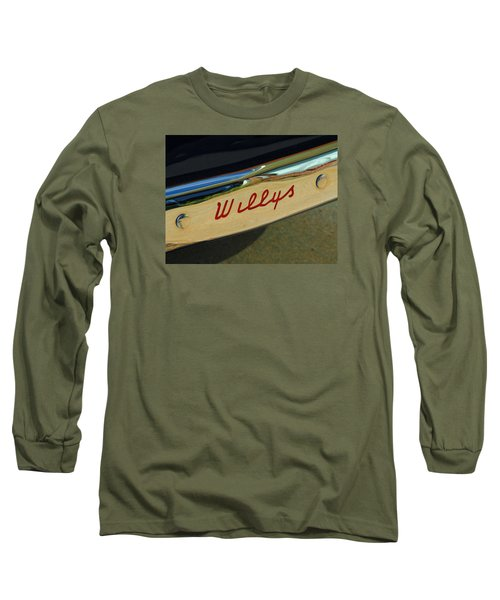 Classic Willys Jeep Long Sleeve T-Shirt