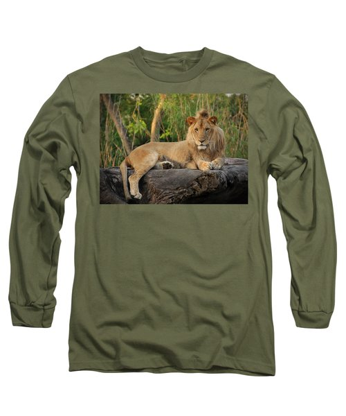 Classic Young Male Long Sleeve T-Shirt