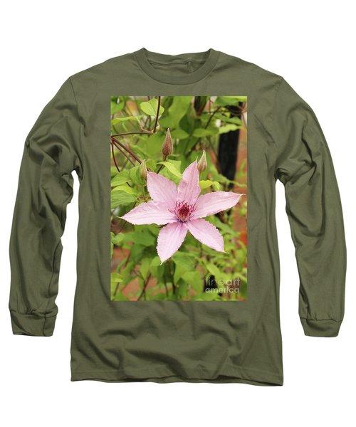 Clematis Hagley Hybrid #2 Long Sleeve T-Shirt