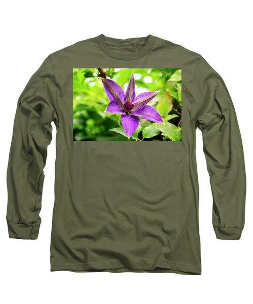 Clematis Vine II Long Sleeve T-Shirt