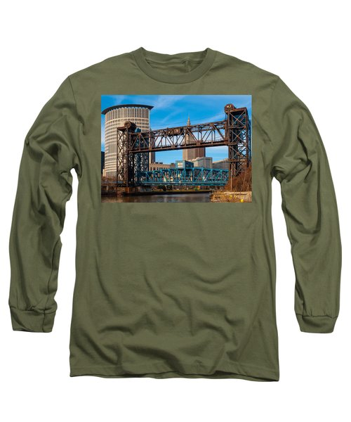 Cleveland City Of Bridges Long Sleeve T-Shirt