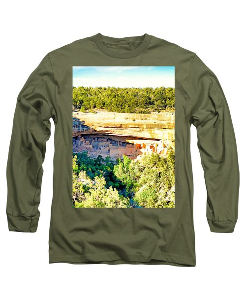 Cliff Palace Study 1 Long Sleeve T-Shirt