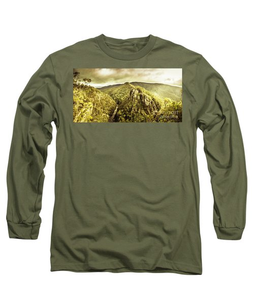 Cliffs, Steams And Valleys Long Sleeve T-Shirt