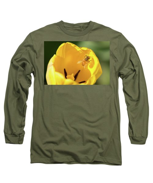 Long Sleeve T-Shirt featuring the photograph Climbing Out by Brian Hale