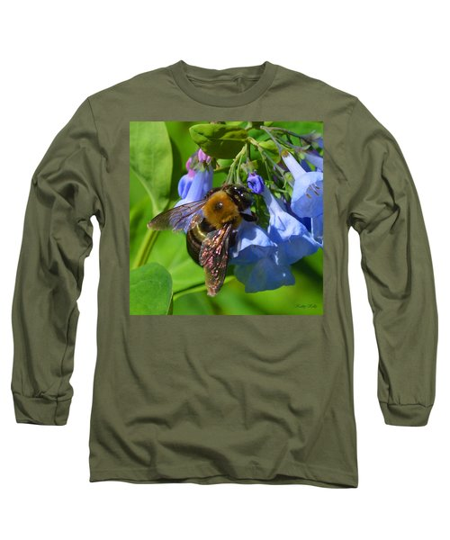Cling On Long Sleeve T-Shirt by Kathy Kelly