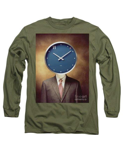 Clockhead Long Sleeve T-Shirt