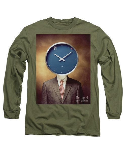 Clockhead Long Sleeve T-Shirt