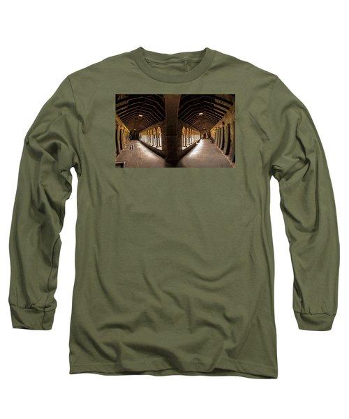 Cloisters On Isle Of Iona Long Sleeve T-Shirt
