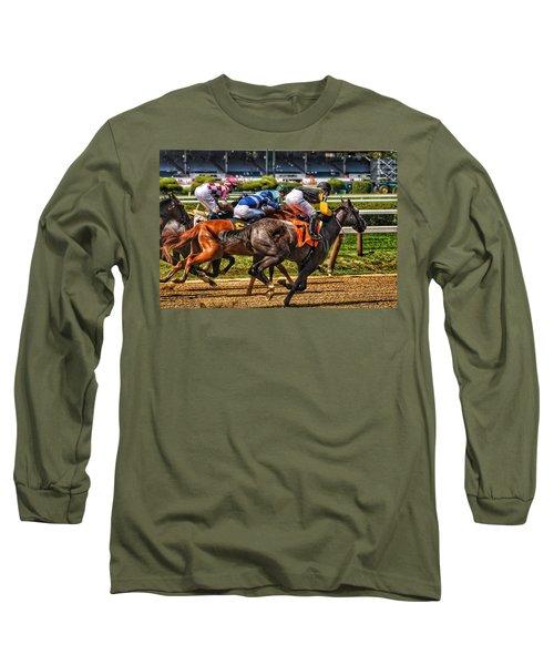 Close Running Long Sleeve T-Shirt