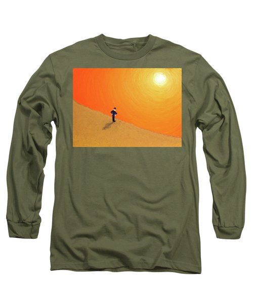 Close To The Edge Long Sleeve T-Shirt by Thomas Blood