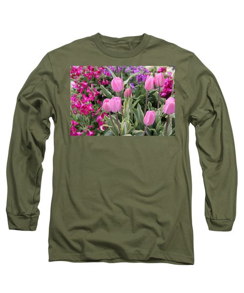 Close Up Mixed Planter Long Sleeve T-Shirt