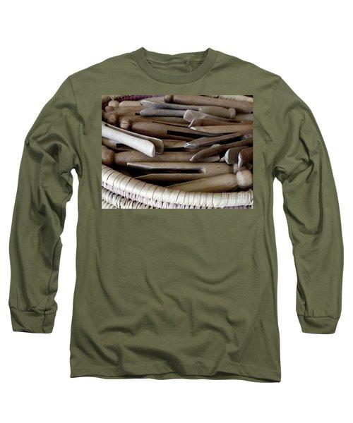 Clothes-pins Long Sleeve T-Shirt