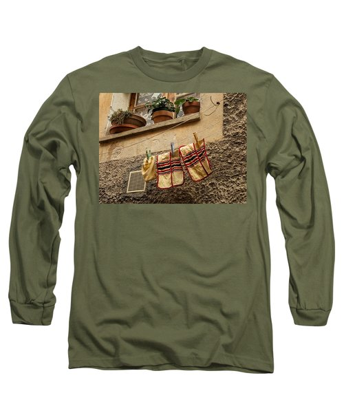 Clothesline In Biot Long Sleeve T-Shirt