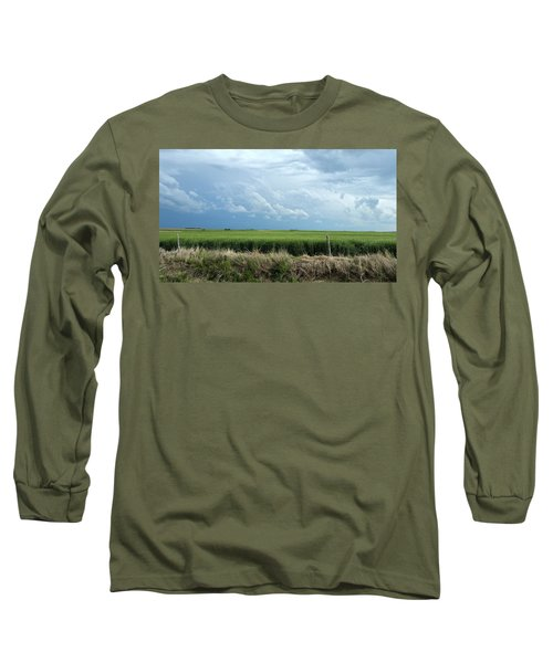 Cloud Gathering Long Sleeve T-Shirt by Sylvia Thornton