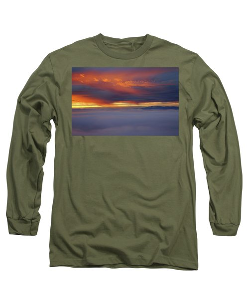 Cloud Layer Sunrise At Dead Horse Point State Park Long Sleeve T-Shirt
