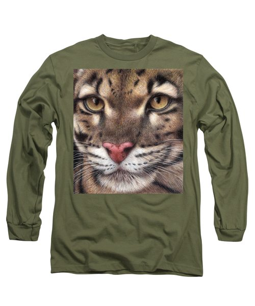 Clouded Leopard Long Sleeve T-Shirt