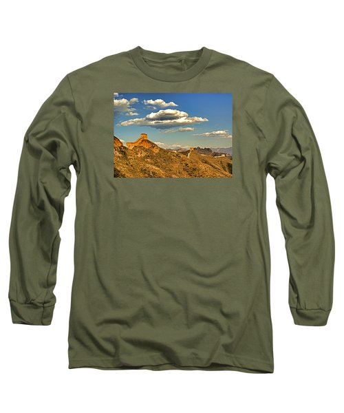 Clouds Over Great Wall Long Sleeve T-Shirt by Dennis Cox ChinaStock