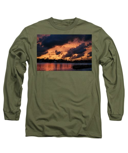 Long Sleeve T-Shirt featuring the photograph Cloudscape by Laura Fasulo