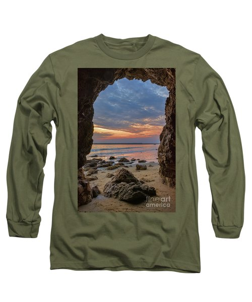 Cloudy Sunset At Low Tide Long Sleeve T-Shirt