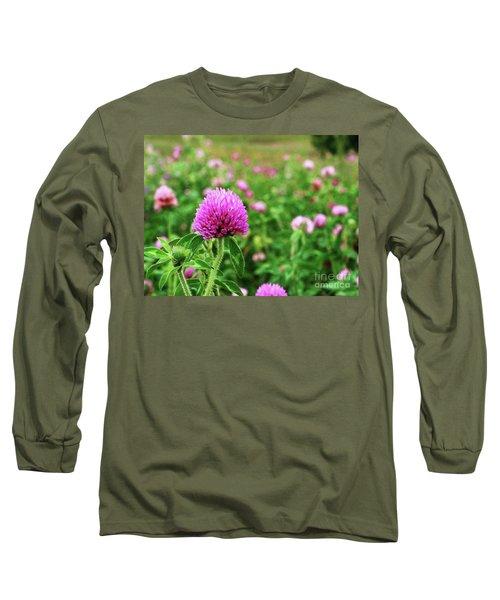 Clover Field Long Sleeve T-Shirt