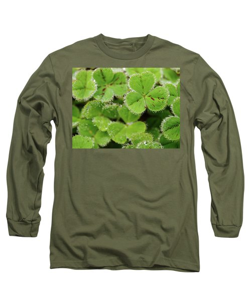 Cloverland Frosted Over Long Sleeve T-Shirt