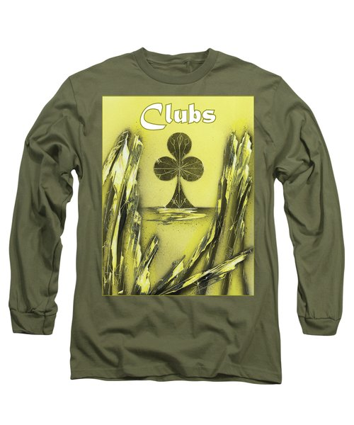 Clubs Suit Long Sleeve T-Shirt