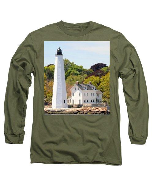 Coastal Lighthouse-c Long Sleeve T-Shirt